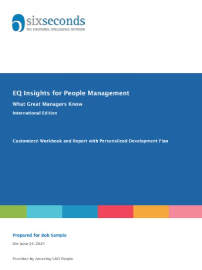 EQ Insights For People Management Cover