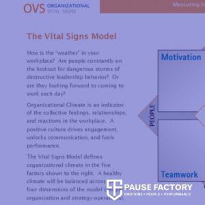 Organizational Vital Signs