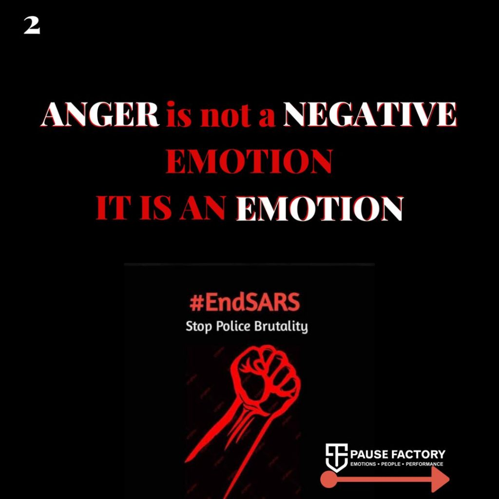 Impact Of Anger in EndSARS Protest and Need For Emotional Intelligence