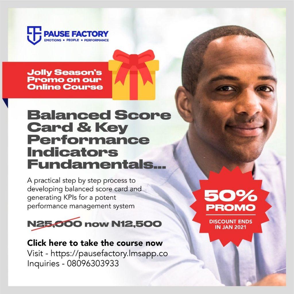 Balance Score Card and Key Performance Indicators Fundamentals Online Courses