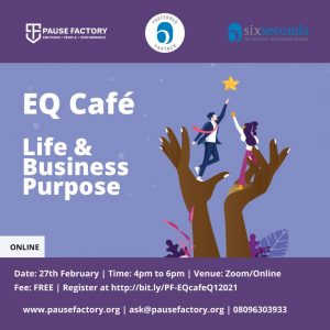 EQ Cafe - Life and Business Purpose